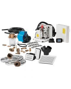Webasto FCF Platinum Series Air Conditioner Complete System Kit w/KoolAir PM500 Pump & Ducting - 6,000 BTU/h - 115V