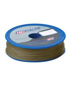 FSE Robline Waxed Tackle Yarn Whipping Twine - Brown - 0.8mm x 80M