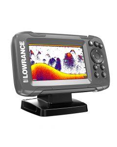 "Lowrance HOOK²-4X GPS 4"" Fishfinder GPS TrackPlotter All Season Pack"