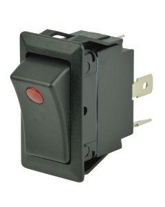 BEP SPST Rocker Switch - 1-LED - 12V/24V - ON/OFF