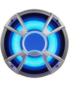"Clarion CMQ2512WL 10"" 4-OHM Subwoofer 400W w/LED - Light Blue"