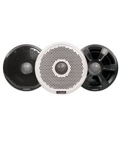 """FUSION FR6022 6"""" Round 2-Way IPX65 Marine Speakers - 200W - Pair with 3 Speaker Grilles Provided - *Case of 6 Pairs*"""