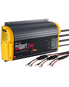 ProMariner ProSport 20 Plus Gen 3 Heavy Duty Recreational Series On-Board Marine Battery Charger - 20 Amp - 3 Bank - *Case of 4*