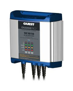 Guest On-Board Battery Charger 30A / 12V - 3 Bank - 120V Input