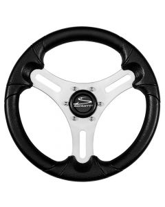 "Ongaro 13"" Torcello Lite - Polyurethane Wheel - 3/4"" Tapered Shaft - Silver/Black"