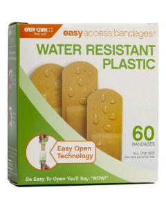 """Adventure Medical Easy Access Bandages® - Plastic - 3/4"""" x 3"""" - 60ct"""