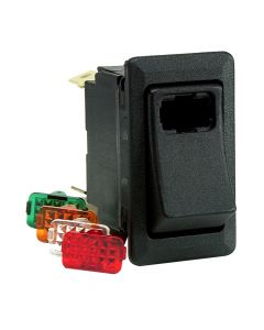 Cole Hersee Lighted Rocker Switch SPST On-Off 4 Blade