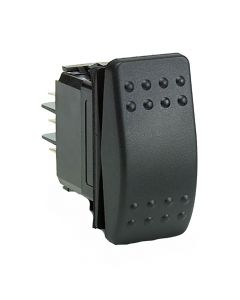 Cole Hersee Rocker Switch SPST (On)-Off 2 Blade