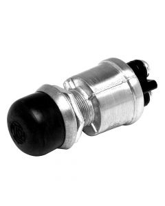 Cole Hersee Push Button Switch SPST Off-On 2 Screw w/Screw-On Cap