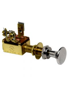 Cole Hersee Push Pull Switch SPST On-Off 3 Screw