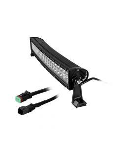 """HEISE Dual Row Curved LED Light Bar - 22"""""""