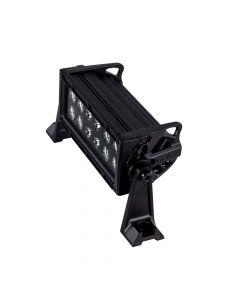 """HEISE Dual Row Blackout LED Light Bar - 8"""""""