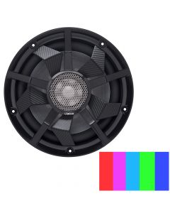 """Clarion 10"""" Marine Subwoofer w/Black and Silver Grilles"""