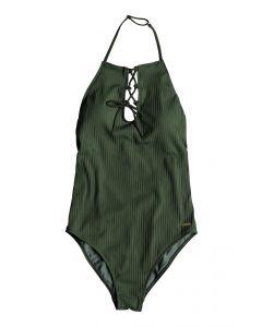 Roxy Women's Goldy Sandy 1 Piece Swimsuit Thyme