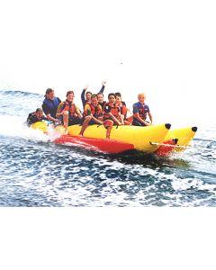 Double Pontoon 6 & 10 Person Banana Boat