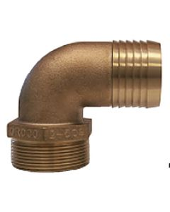 Pipe-To-Hose Adapter, 90° - Groco