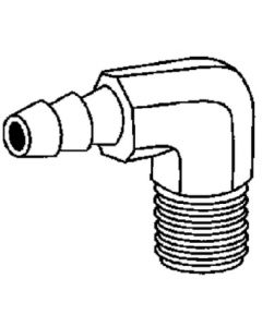 Forged Hose Barb Elbow (Brass Fittings)