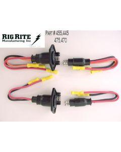 Oem Retrofit Trolling Motor Receptacle & Plug (Rig Rite)