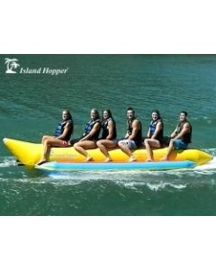 Banana Boat 3, 5, 6, 8 Person Capacity -Island Hopper