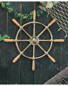 Brass Ship's Wheels