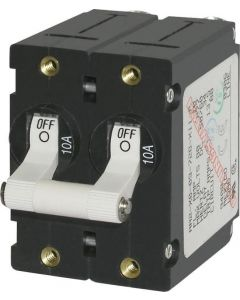 Blue Sea A-Series Toggle Double Pole AC Circuit Breakers