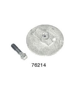 Replacement Anti-Ventilation Plate Anodes For Mercury/Mariner Part Number 76214