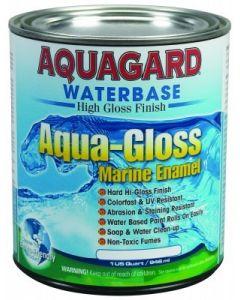 Aquagard Aqua-Gloss Waterbased Hi-Gloss Marine Enamel