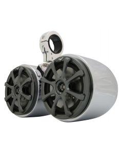 Kicker KS65 Polished & Anodized Double Barrel Speakers