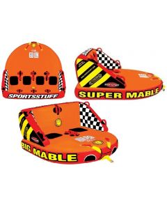 SportsStuff Big, Great & Super Mable 2, 3, 4 Person Reversible Boat Towable