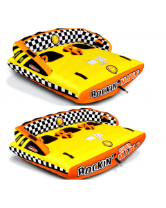 SportsStuff Rockin Mable 2, 3 Person Reversible Boat Tube