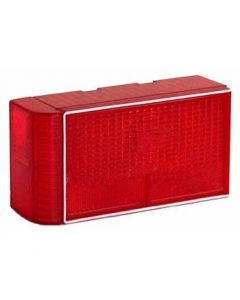 Dry Launch Submersible Trailer Tail Lights with Curved End Extensions
