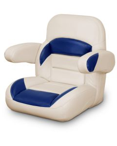 Lexington Low Back Non-Reclining Helm Seat with Arms