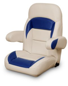 Lexington High Back Reclining Helm Seat with Arms