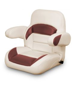 Lexington Low Back Reclining Helm Seat with Arms