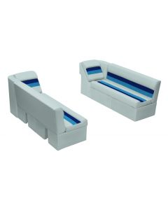 """Wise Deluxe Pontoon 55"""" Bench & Lean Back Set"""