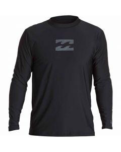 Billabong Men's All Day Wave Long Sleeve Wetshirt Rashguard
