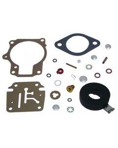 Sierra Marine Carburetor Rebuild Kit w Float 18-7222 for Johnson / Evinrude, Replaces 398729, 396701, 392061