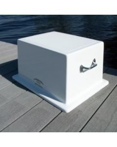 C&M Marine Products Fiberglass Single Step Box