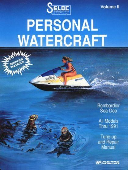 seloc sea doo bombardier jet ski pwc 1988 1991 repair manual rh iboats com