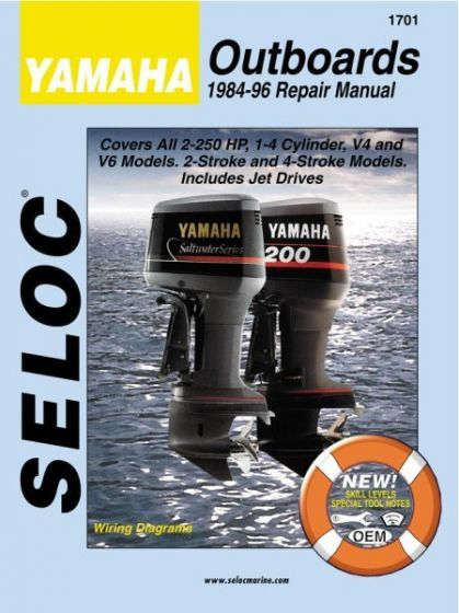 seloc yamaha outboards 2 250hp 1984 1996 repair manual 1 4 cylinder rh iboats com Seloc vs Clymer Manuals seloc repair manual reviews