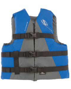 Stearns Classic Series Nylon Vests, Youth Blue 3000001708