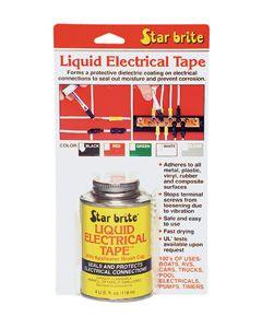 Starbrite Liquid Electrical Tape - 4 Oz. - Clear - Star Brite