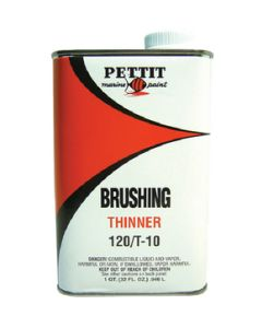 Pettit Paint Brushing Thinner 120/T-10, Gallon