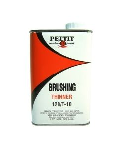 Pettit Paint Brushing Thinner 120/T-10, Quart