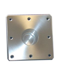"Todd Square Floor Plate, 6""X 6"" Flush Mount"