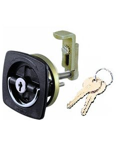 Perko Improved Adjustable Cam Flush Lock 0931DP2BLK