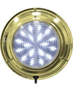 "Seasense LED Dome Boat Light, 5-1/2"", White 20 LED"