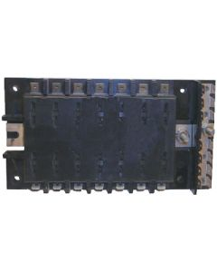 MarineWorks ATO/ATC Style Fuse Block without Ground, 14-Gang, 30A per Circuit, 160A Total for Block