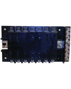 MarineWorks ATO/ATC Style Fuse Block with Ground, 14-Gang, 30A per Circuit, 160A Total for Block