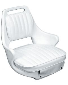 Moeller White 2071 Chair, Cushion Set, and Mounting Plate